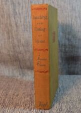 Lunching & Dining AT HOME Jeanne Owen Alfred Knopf 1942 VTG Cooking Food Writing