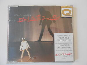 MICHAEL JACKSON : BLOOD ON THE DANCE FLOOR ( REMIX ) || CD SINGLE