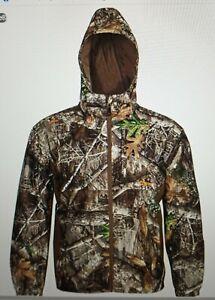 Men's Habit Realtree Edge Buck Hollow, 2XL, Scent Control, Waterproof Jacket NEW