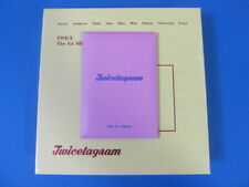 TWICE - TWICETAGRAM [B VER.] CD + 3 PHOTOCARD +STICKER + CASE+ PO BENEFIT