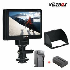 Viltrox 5'' Clip-on LCD HDMI Camera Video Monitor+Battery For Sony A7 A7S A6300