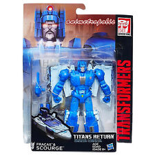 Transformers Generations TITANS RETURN Deluxe FRACAS SCOURGE Action Figure UK