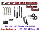 1999 - 2006 CHEVY GMC 1500 Silverado Sierra 1 - 3