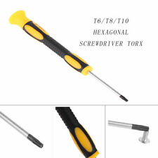 T6/T8/T10 Hexagonal Screw Torx Driver Open Kit Screwdriver Repair Set Fr Xbox360