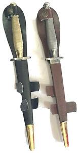 Lot of 2 reproduction Fs commando dagger Fairbairn-sykes High carbon steel blade