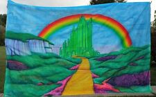 "Wizard of Oz Emerald City Custom Air Brush Mural, Back Drop 146"" x 96"""
