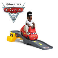 Step2 Disney Pixar Cars 3 Toddler Toy Roller Coaster Indoor Outdoor Ride On
