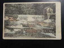 Pre-1908 UDB Water Works Dam & Natural Falls near Clifton Forge VA Postcard