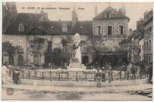 DIJON 3 CPA - Place des cordeliers Monument Piron - Eglise St Michel