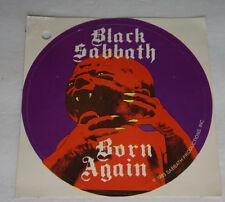 Winterland San Francisco CA Retro Vintage 1983 BLACK SABBATH Born Again Sticker
