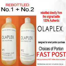 Re-Bottled OLAPLEX  NO.1 + NO.2 100% AUTHENTIC Directly Step 1 & 2