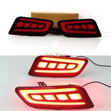 Light Guide LED Brake Lights Turn Signal Driving Light for Ford Everest 2016-18