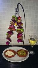 Set of 4 Kebab/skewer Stands for Indoor or Outside Use