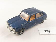 CORGI TOYS # 202 RENAULT 16TS ORIGINAL DIECAST CAR BLUE WHIZZWHEELS 1970