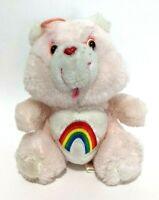 """Original Vintage 1983 Care Bears Cheer Bear Kenner Rainbow Plush Stuffed Mini 6"""""""