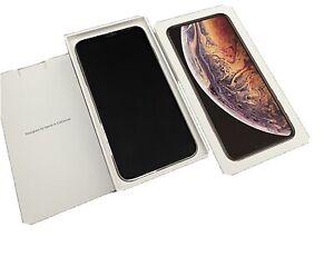 iphone xs max 256gb unlocked Verizon Full Fuctioning Cracked Back ChippedFront