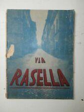 Raro Libro Fascismo Via Rasella 1944 prima edizione Azione Letteraria Italiana