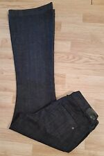 Womens EXPRESS Eva Fit and Flare Stretch Denim Jean Size 8 R   EUC