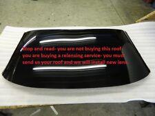 C5 Corvette Roof Panel Lens Rebuild Exchange Repair Service Glass Acrylic