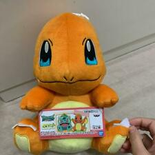 BANDAI Pokemon Charmander Character Plush Toy Stuffed Doll cute w/tracking