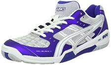 Asics GEL BLADE 4 Womens COURT VOLLEYBALL Shoes Sz 7 NEW PURPLE WHITE LIGHTNING