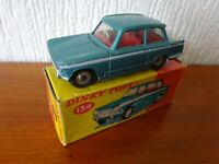 TRIUMPH VITESSE - DINKY TOY 134 - Die cast model in ORIGINAL BOX - SEE PHOTOS.