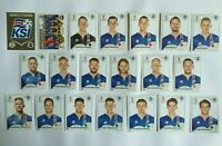 Panini WM 2018 Island Iceland Team Complete Set World Cup WC 18