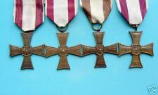 #96  POLAND POLISH CROSS OF VALOR GROUP WWII EXILE MEDALS