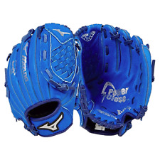 Original Prospect Mizuno youth T-BALL 9.5 in Baseball Glove blue closed basket