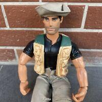"""Vintage 12"""" Hasbro Gi Joe 1998 Adventure Action Figure 1/6 SCALE 1:6 21st- KR"""