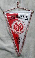 *RAR* Orig. Wimpel 90ziger Jahre 1.FSV Mainz 05 Fussball Wimpel Bundesliga DFB