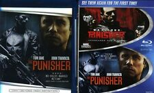 Punisher/Punisher 2: War Zone [2 Disc (2012, Blu-ray NIEUW) BLU-RAY/WS2 DISC SET
