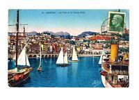 CPA 06 Alpes-Maritimes Menton Le Port et la Vieille Ville