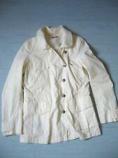veste parka coton blanc cassé IKKS taille 38 NEUVE