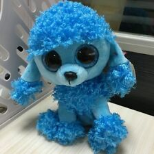Soft Toy From Ty Beanies Boos ~Many~blue Poodle dog Lovely Toy For Kids