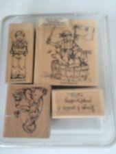Stampin Up LITTLE BOYS stamp set wood