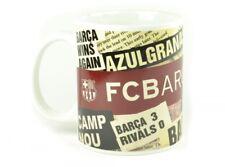 Barcelona FC Football Headline Coffee Tea Gift Mug Official Team Fan Merchandise