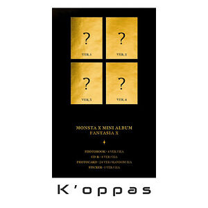 MONSTA X - [FANTASIA X] Mini Album Pre Order Benefit+CD+Photobook+Tracking