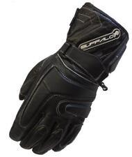 Gants noirs pour motocyclette hiver filles et garçons