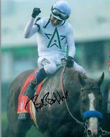Bob Baffert Signed Autograph 8x10 Photo Mike Smith Justify Horse Trainer COA