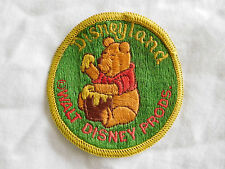 Vintage Disneyland Winnie The Pooh Honey Pot Patch