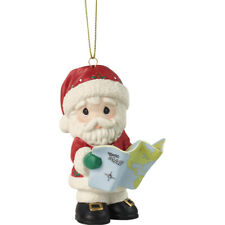 Precious Moments Joy To The Whole Wide World Annual Santa Ornament 2020 New