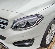 BENZ W246 15~18 facelift B200 B220 B250 chrome frame bezel for head & tail light