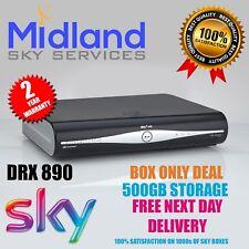 Sky Plus + Hd Caja DRX890 Amstrad caja sólo tratar 500 Gb delgada