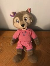 """GREAT WOLF LODGE 16"""" VIOLET GIRL WOLF IN PAJAMAS ADVERTISEMENT PLUSH DOLL FIGURE"""