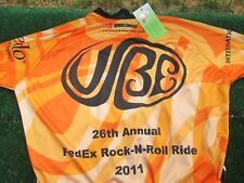 Cycling Jersey New Nimblewear Size L Fed Ex Rock n Roll Ride 2011 New with Tags