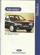 FORD MONDEO VERONA SALES BROCHURE JUNE 1995