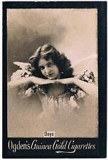 Vintage Ogden's Guinea Gold Cigarettes Deyo Tobacco Card