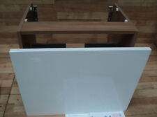 Ideal Standard Concept E6449UH Sphere & Arc Wall Hung Basin Unit 600 Oak & White