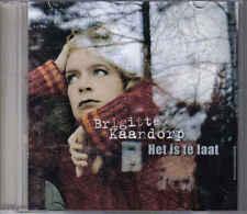promo CD singel Brigitte Kaandorp-Het is te Laat